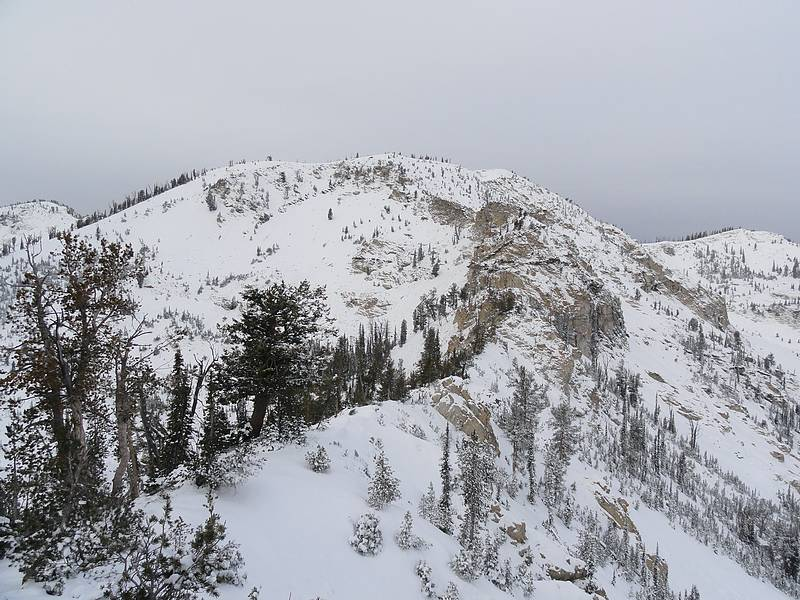 North Goat in winter conditions. Dave Pahlas Photo