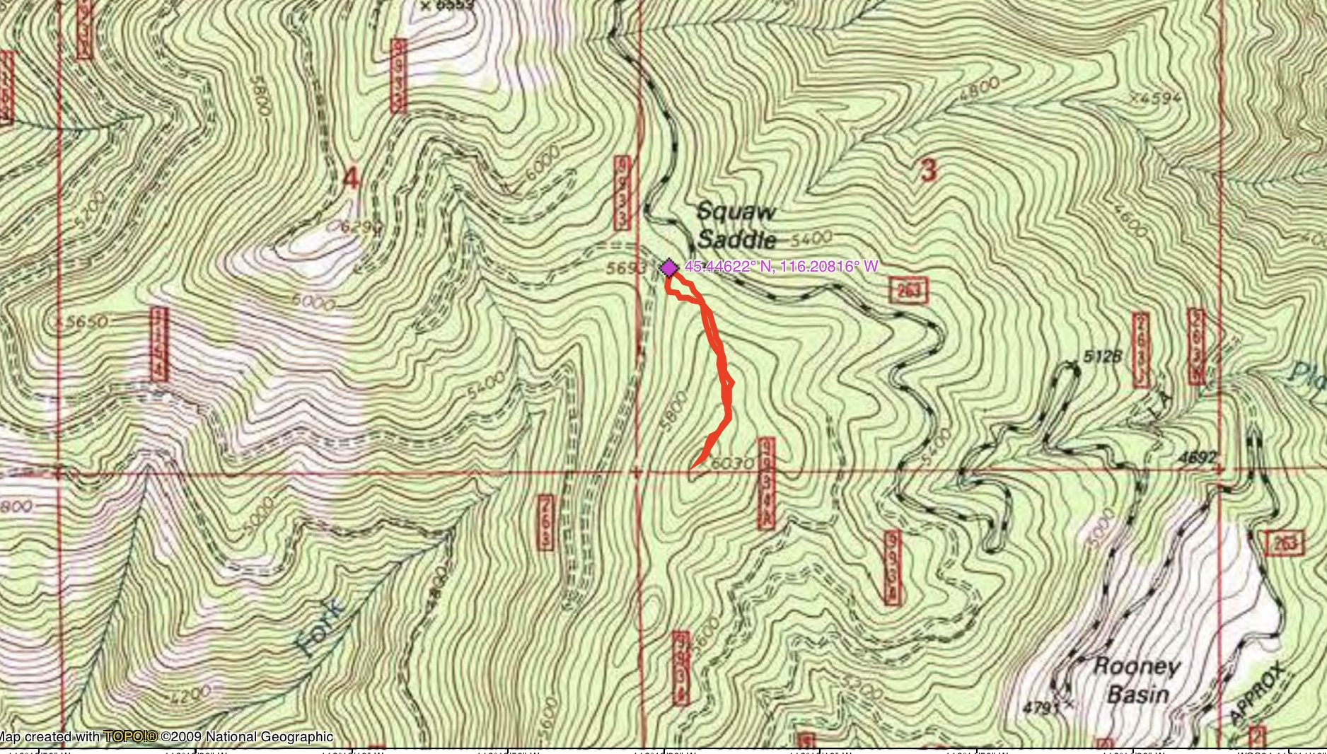 John Platt' GPS track.