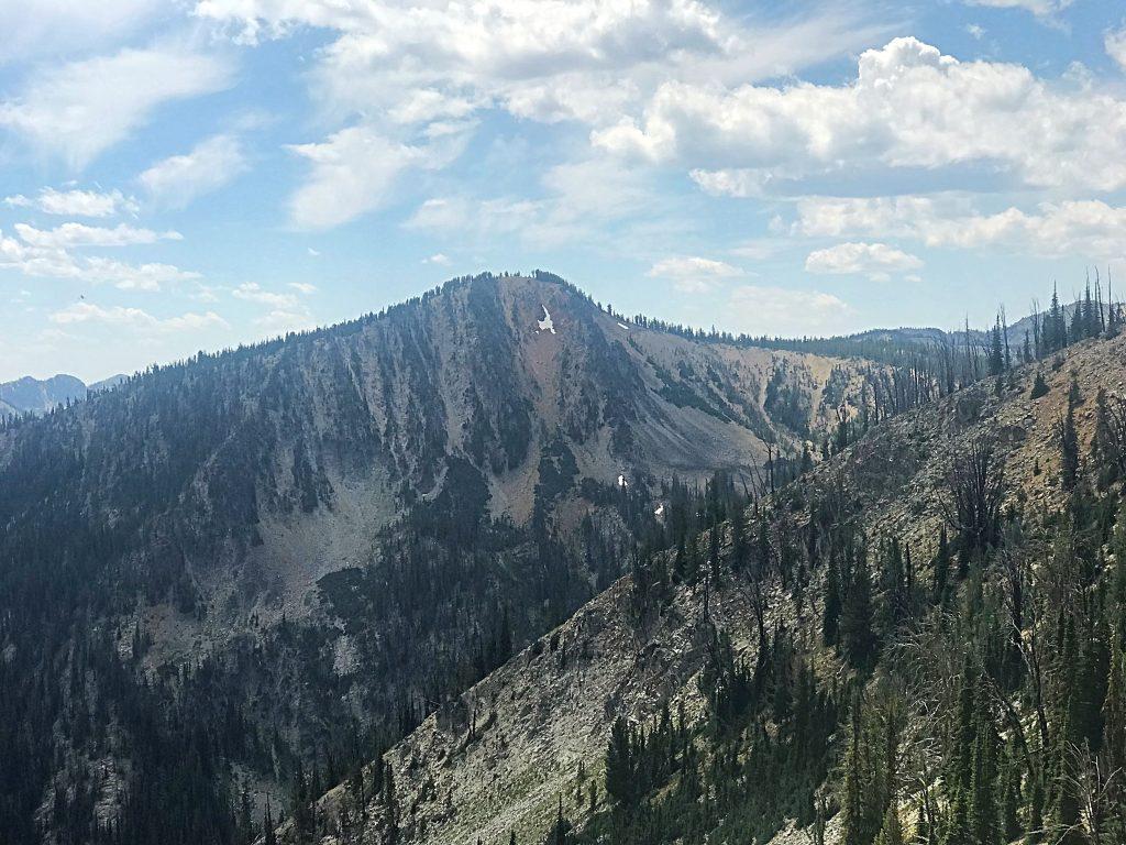 Dixie Mountain viewed from the ridge line connecting it to Mount Eldridge.