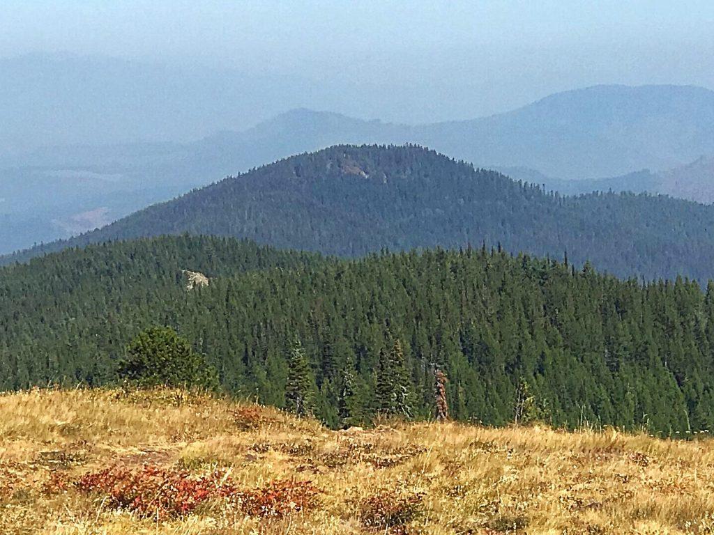 Bernard Peak from North Chilco Peak.