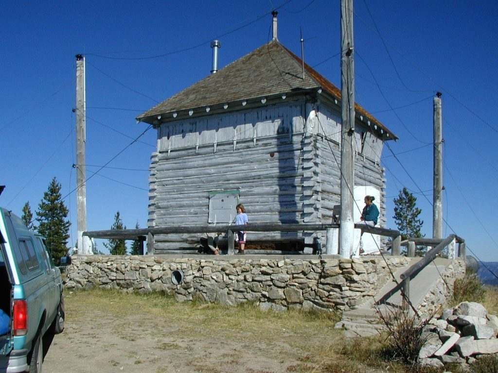 The 1914 lookout in 2001. John Platt Photo