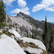 Peak 8695 (Mount Horrendous). John Platt Photo
