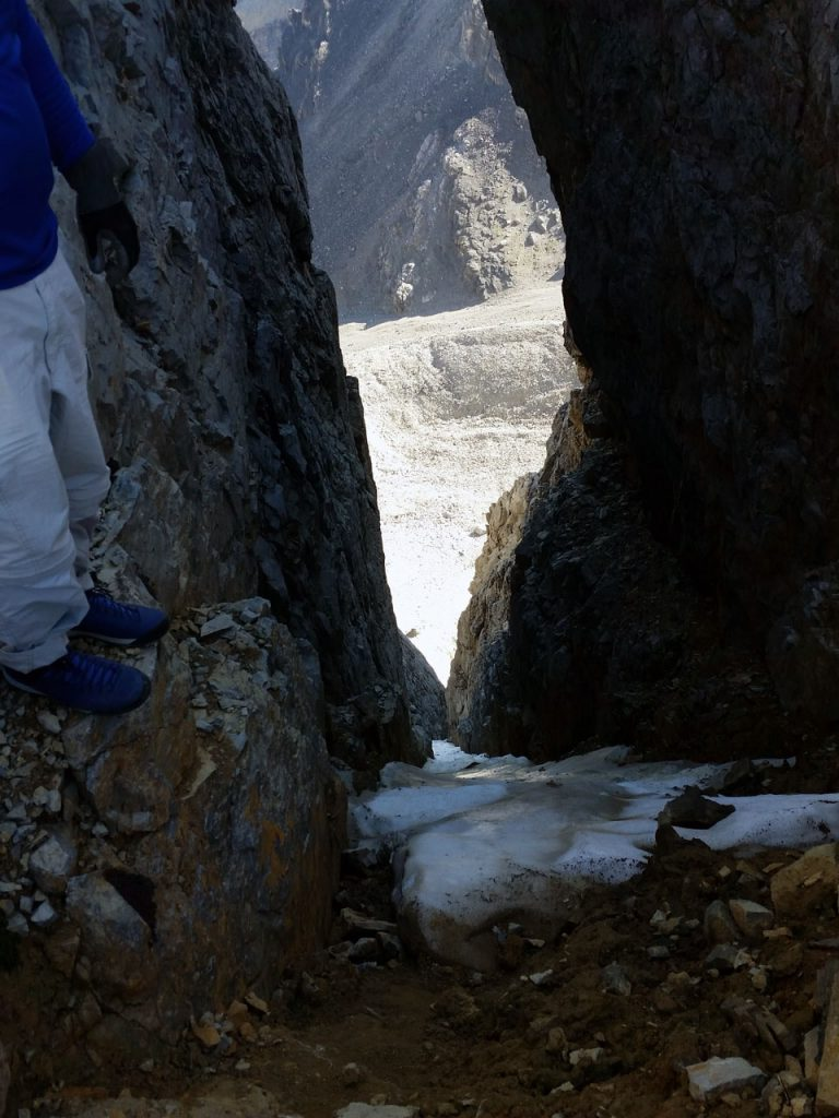 """Kevin looking down on Psycho Therapy's top pitch. """"Oh what memories!"""" Kevin said. Thierry Legrain Photo"""