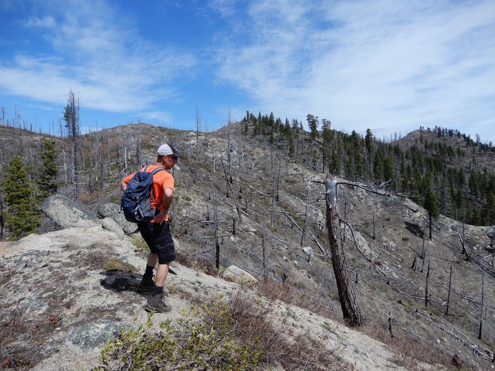 Peak 5985 on the far right. John Platt Photo