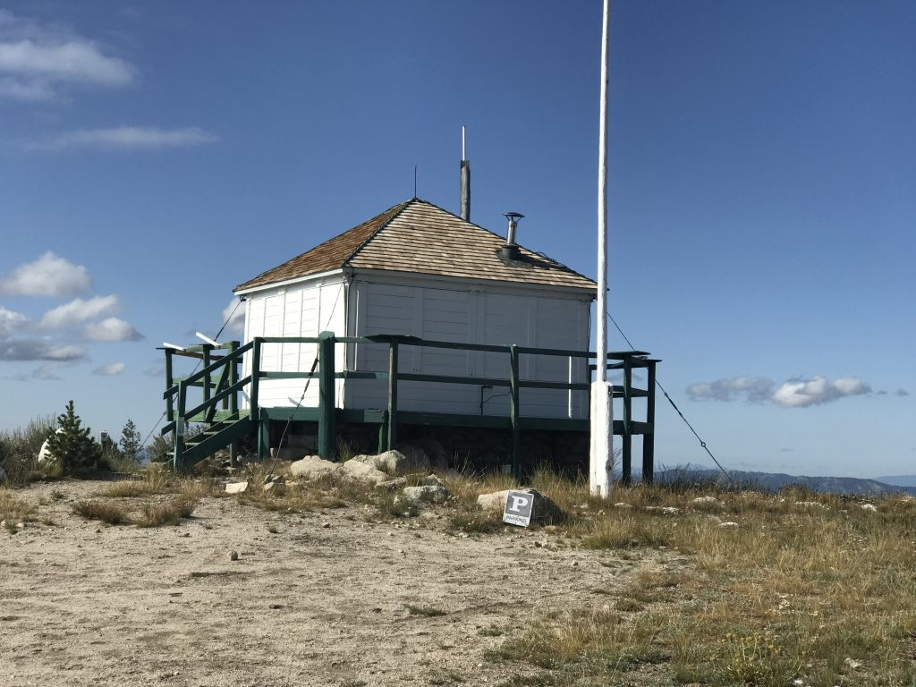 The lookout in 2019.