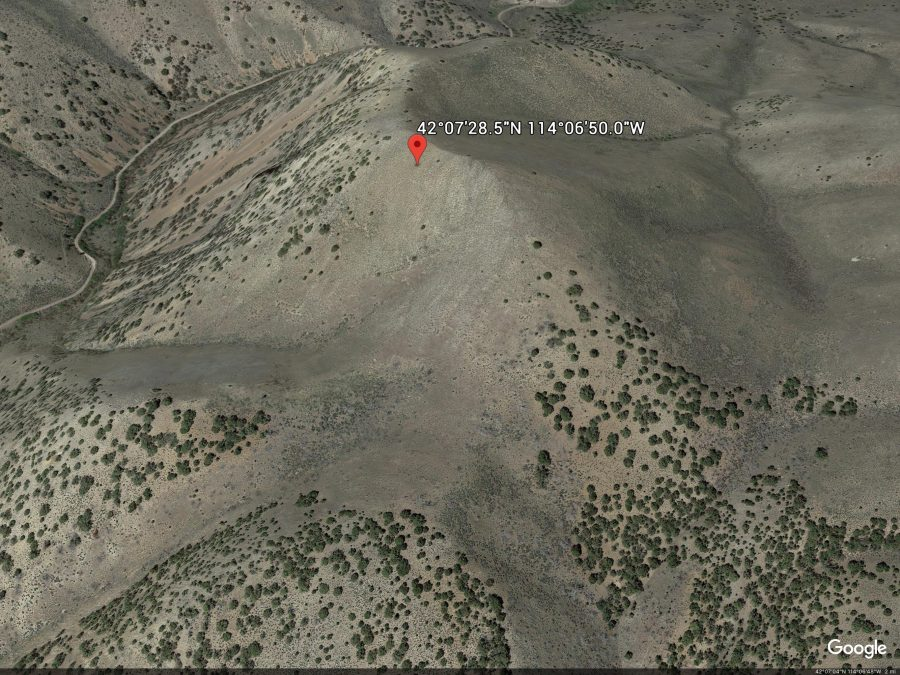 Fall Creek Hill. Google Earth Image