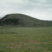 Star Hope Benchmark as viewed from Copper Basin Road to the north. Livingston Douglas Photo