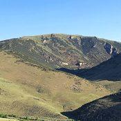 Peak 8932 viewed from Peak 7442.