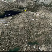 Peak 9510. Google Earth Image