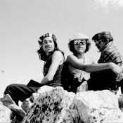 Harry Bowron, Gordon Williams, Ray Brooks. Thompson Peak, 1971