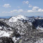 Peak 8737 viewed from Mount Horrendous. John Platt Photo