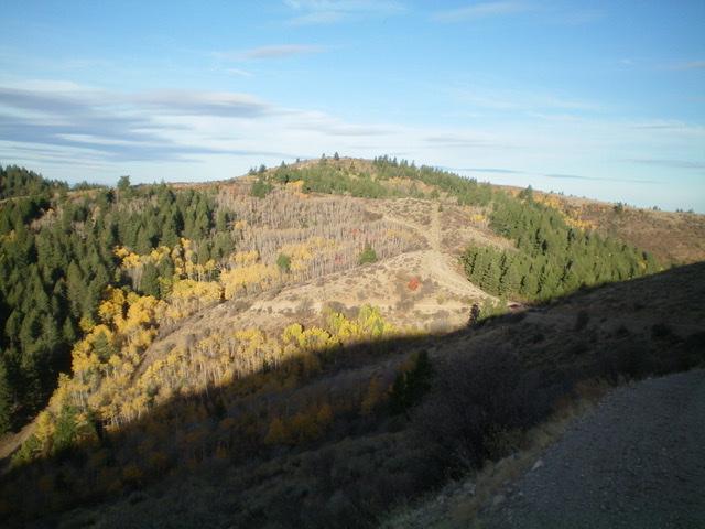 Peak 7217 as viewed from the east. Livingston Douglas Photo