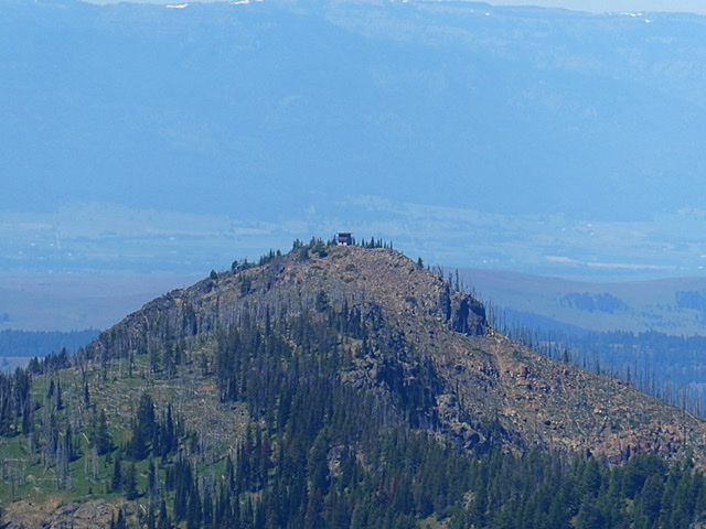 Dry Diggins Lookout viewed from Heavens Gate.