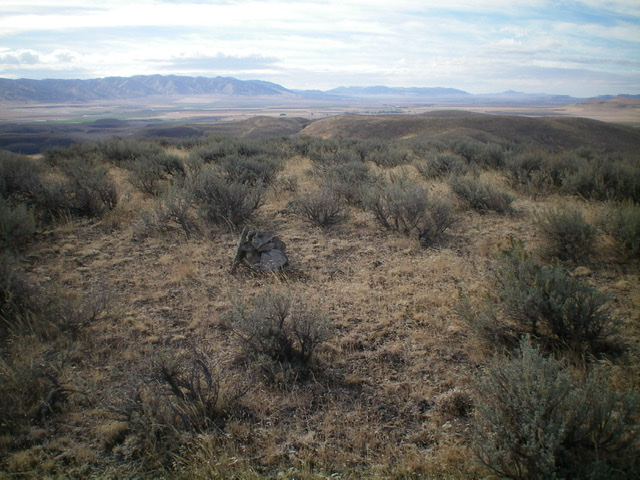 Another view of the sagebrush-covered summit of Peak 5578. Livingston Douglas Photo