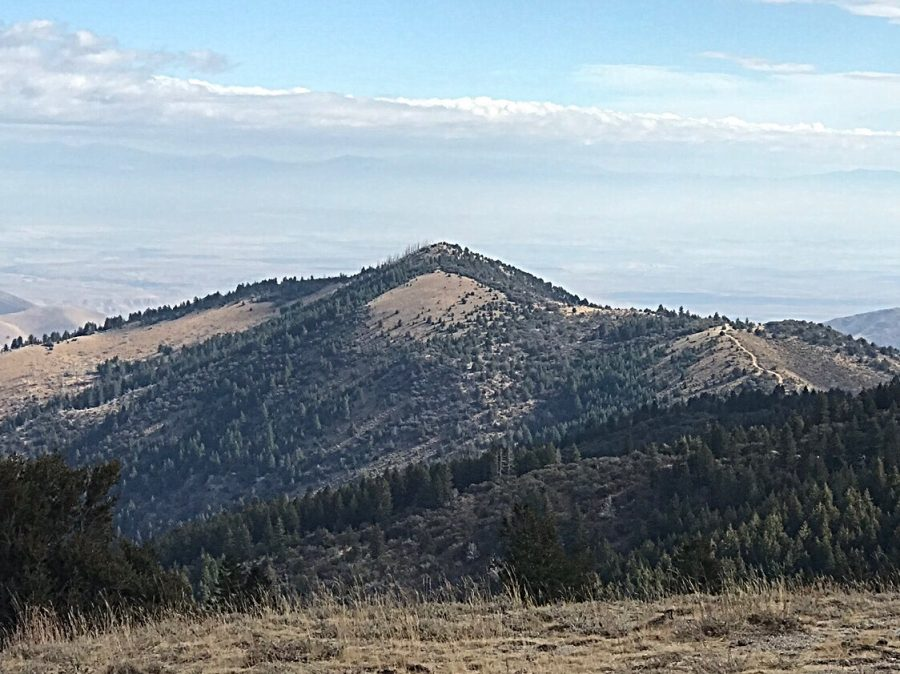 Bald Mountain viewed from New York Summit.