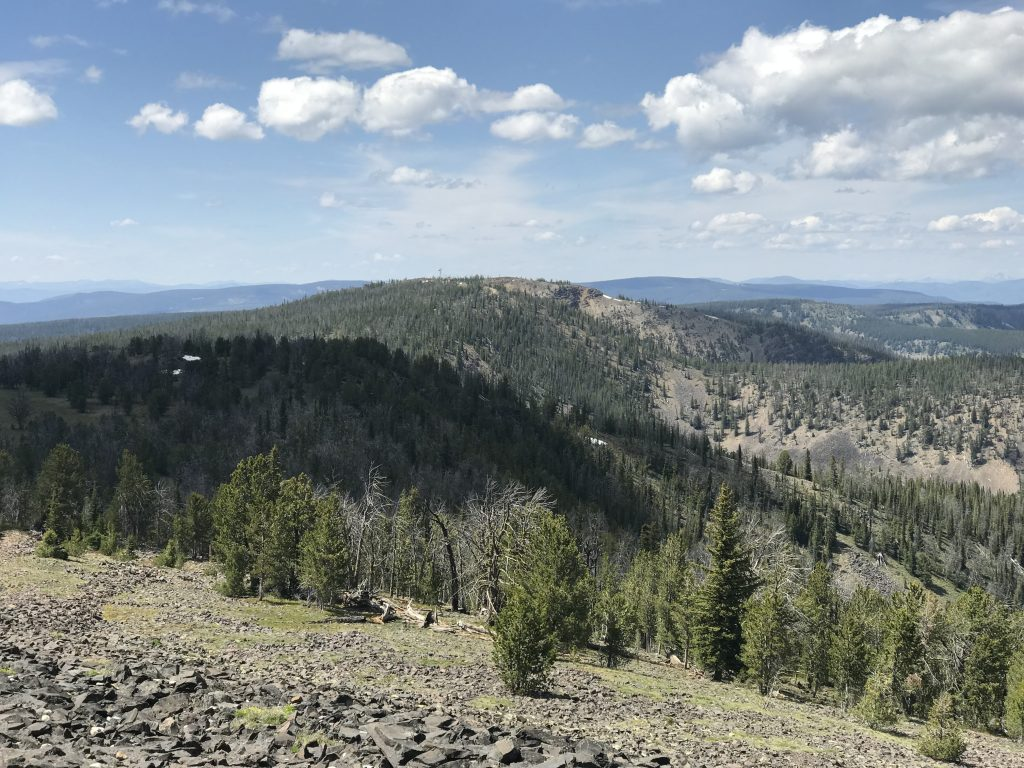 Gutzman Ridge viewed from Baldy.