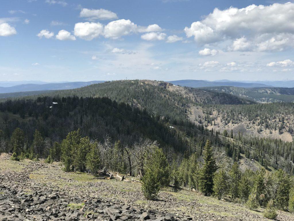 Gutzman Ridge viewed from Baldy.