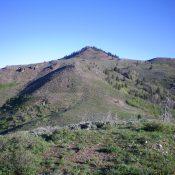 Peak 8324 as viewed from Point 7608 high on the Southeast Ridge. Livingston Douglas Photo