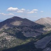 Ray Lode Peak viewed from Big Eightmile Peak. Dave Pahlas Photo