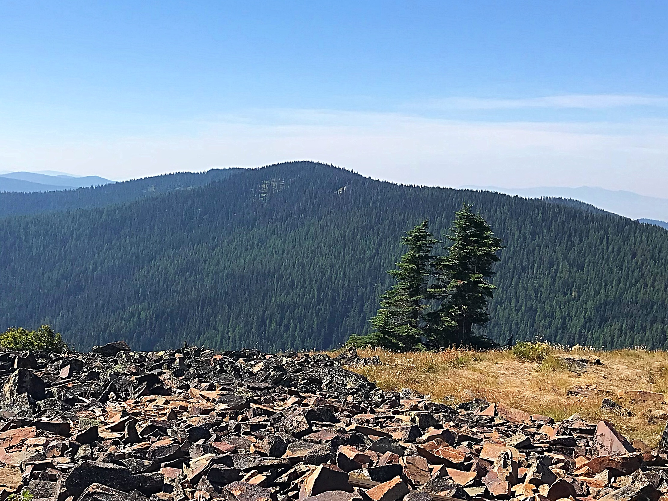 South Chilco Mountain viewed from North Chilco Mountain. Tom Lopez Photo