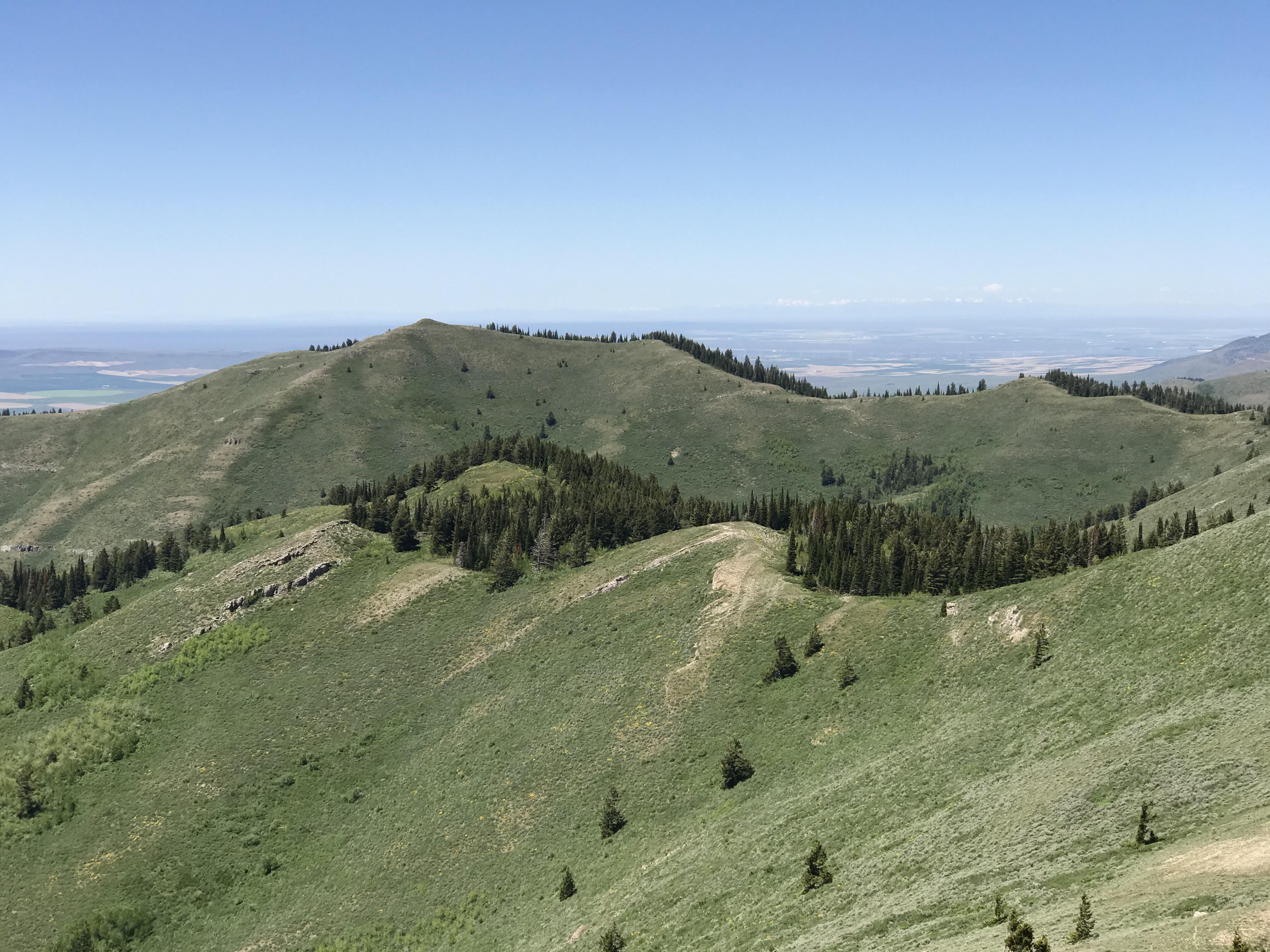 Peak 7700 viewed from Peak 7814.