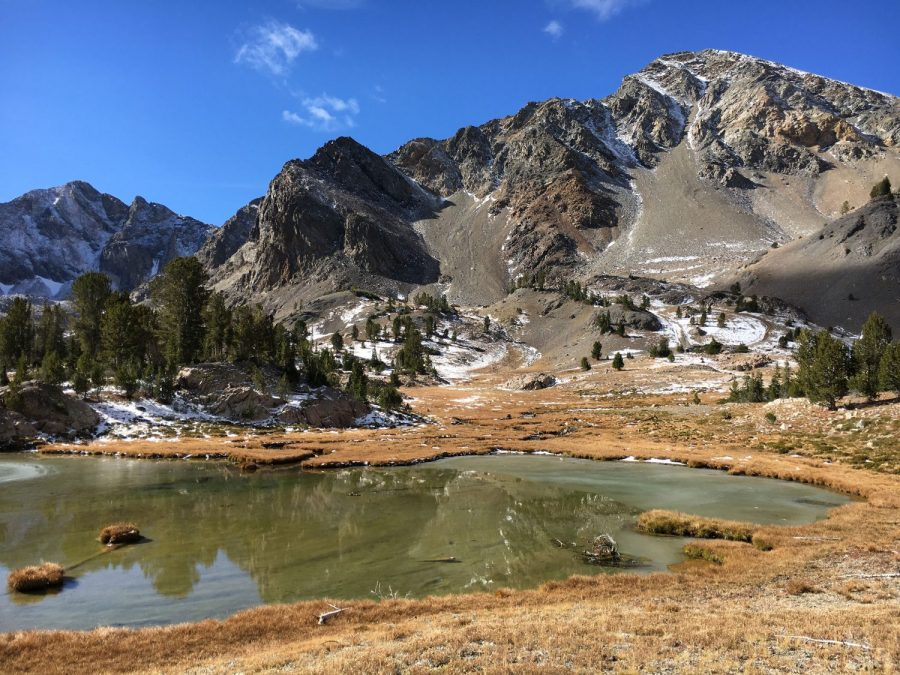 Boulder Basin Peak from Boulder Basin. Derek Percoski Photo