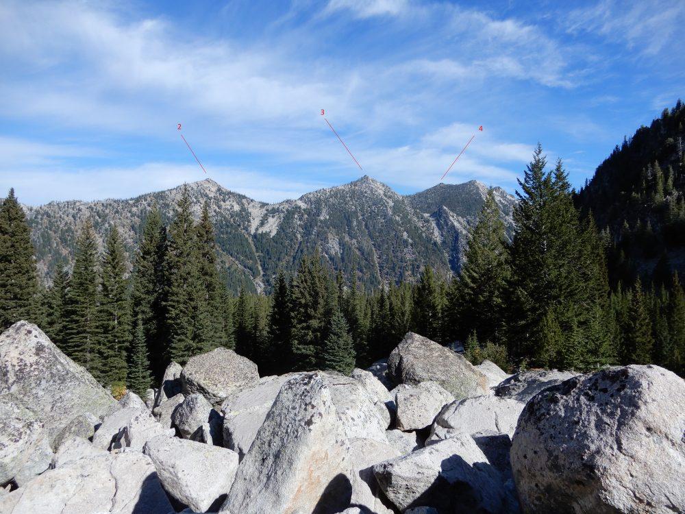 Hum Ridge viewed from the southwest. John Platt Photo
