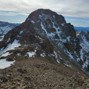 Peak 10660 (Trail End Peak). Brett Sergenian Photo