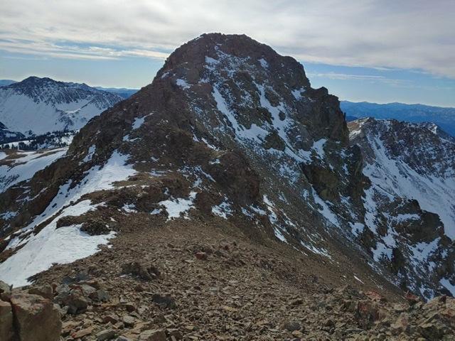 Peak 10660 (Trail End Peak). Brett Sergenian Photo