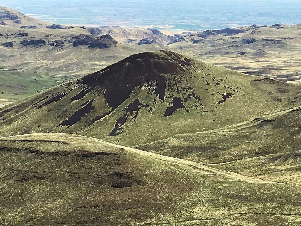 Tims Peak viewed from Dryden Peak.