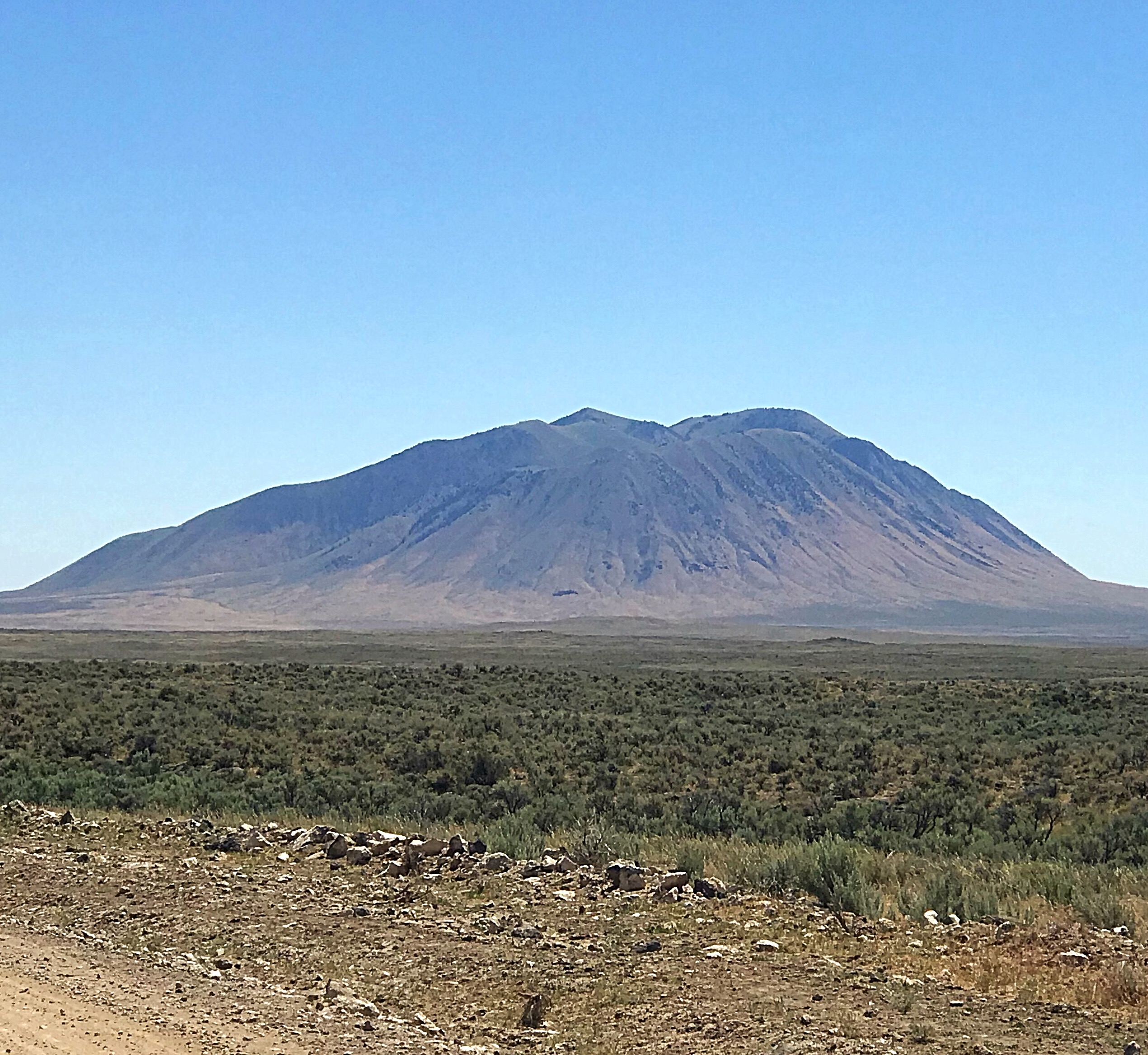 Big Southern Butte viewed from the west.