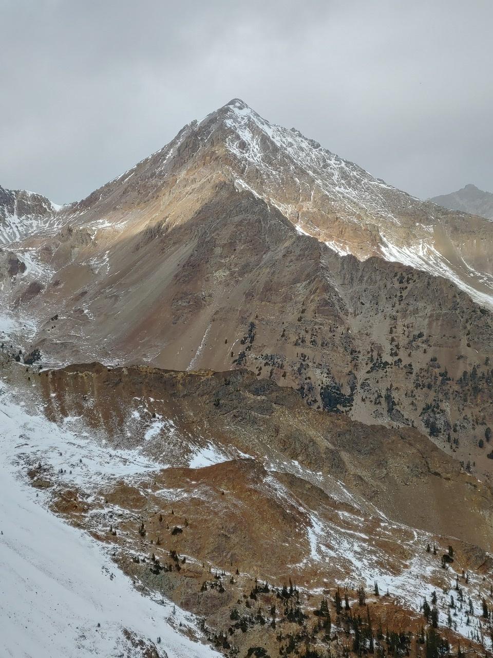 Glassford Peak from Peak 10446. Brett Sergenian Photo