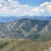 Rattlesnake Peak viewed from Pilot Peak.