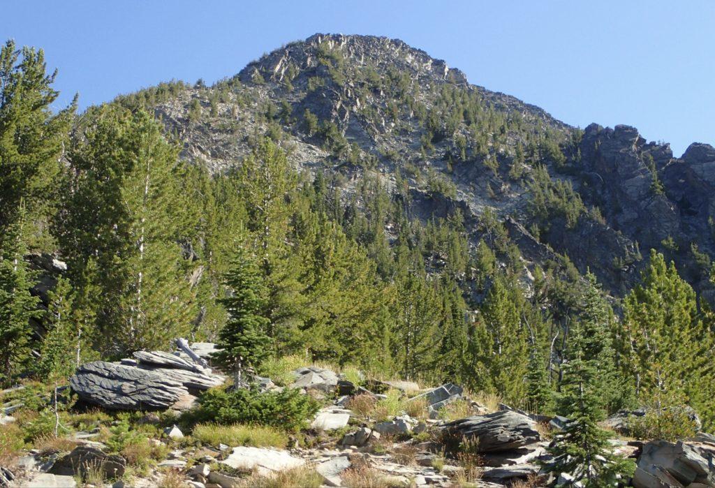 The top of the SW ridge. Judi Steciak Photo