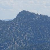 Mount Heinous. The Southwest Ridge is on the left. John Platt Photo