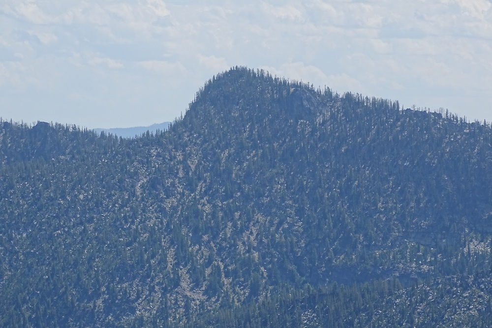 Mount Heinous. The Southwest Ridge is on the left. John Platt Photo