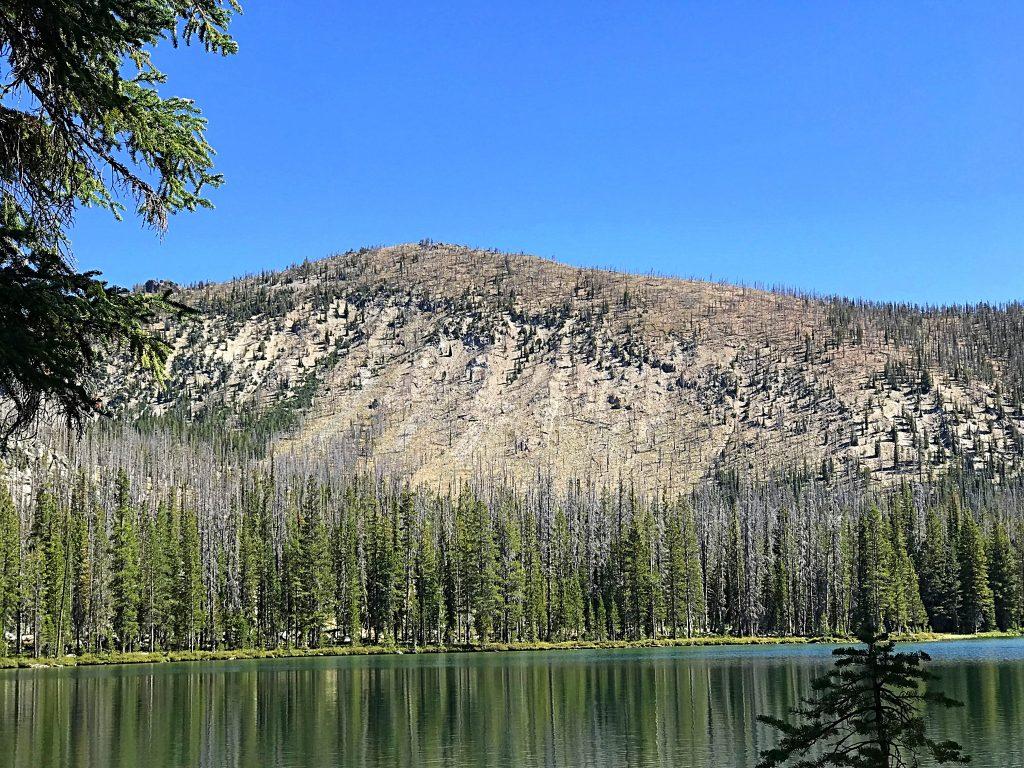 Langer Peak from Langer Lake.