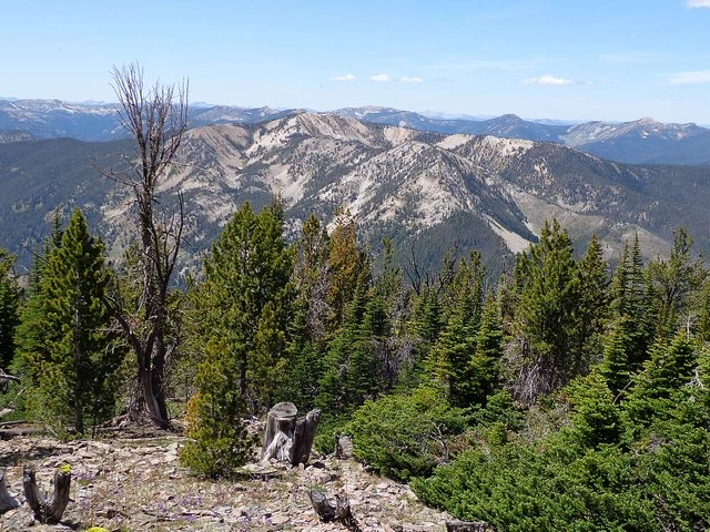 Marble Mountain from Center Mountain. Dave Pahlas Photo