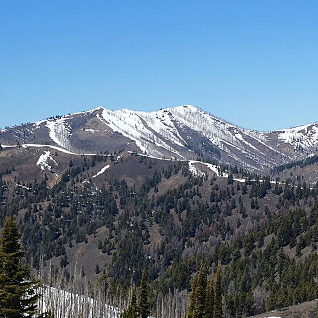 Dollarhide Mountain viewed from Peak 8595 (Trouble Peak)