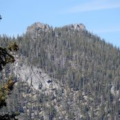 Peak 8401 viewed from near Cougar Saddle. John Platt Photo