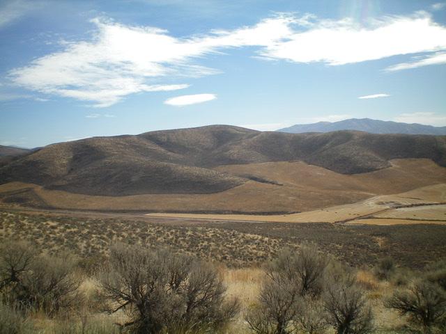 Peak 5964 (dead center) as viewed from the northwest. Livingston Douglas Photo