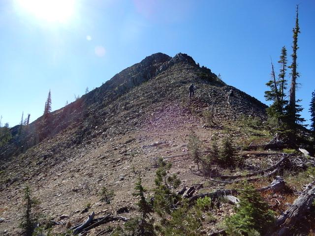 Peak 8421 (Center Ridge #1) viewed from the south. John Platt Photo
