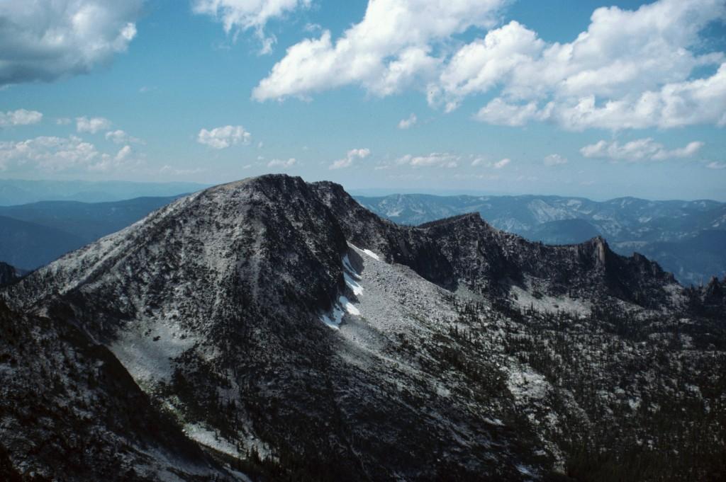 Aggipah Peak from Mount McGuire.