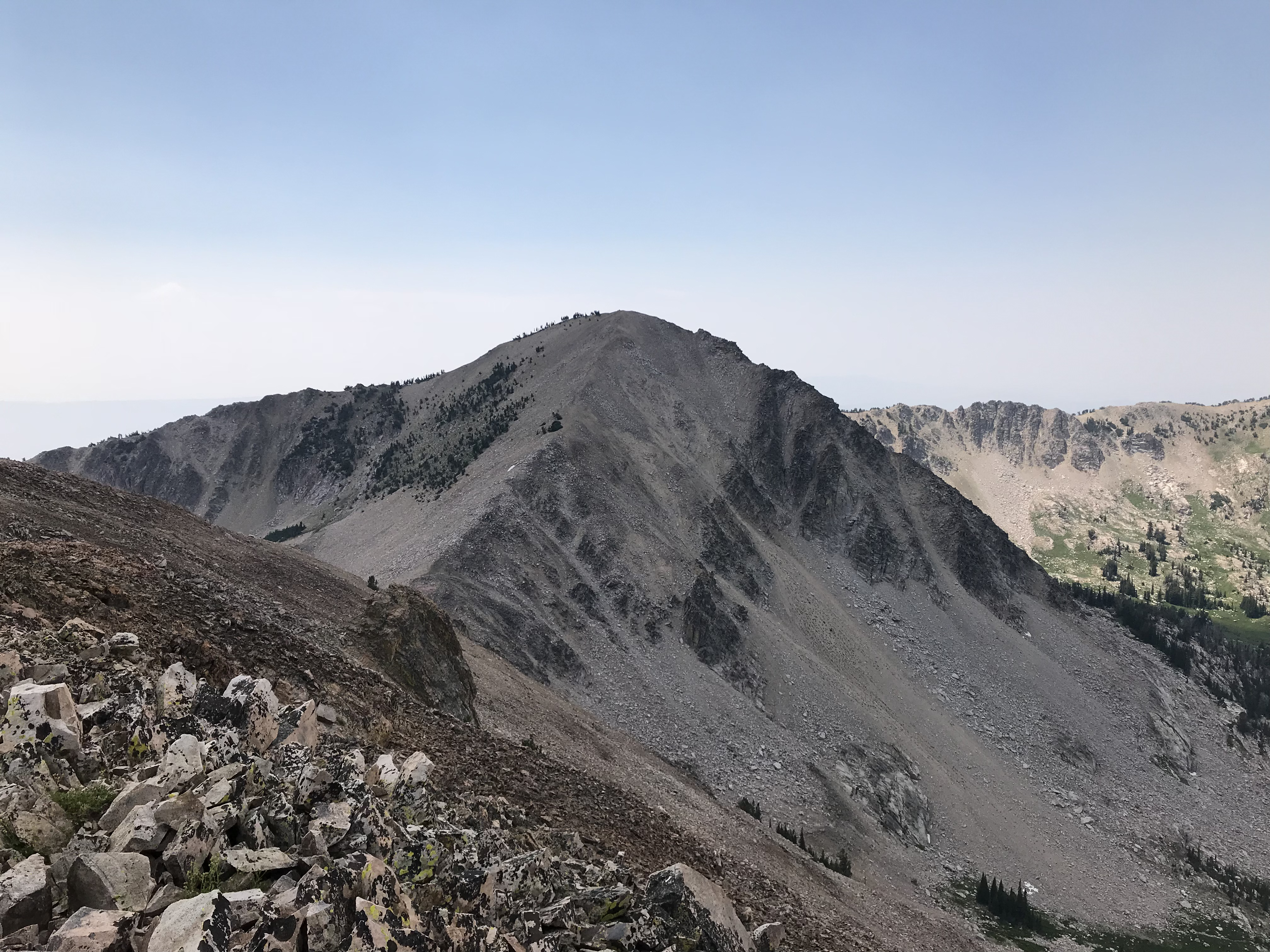 Smoky Dome viewed from North Smoky Dome.