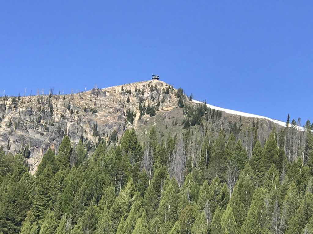 Middle Fork Peak viewed from north.