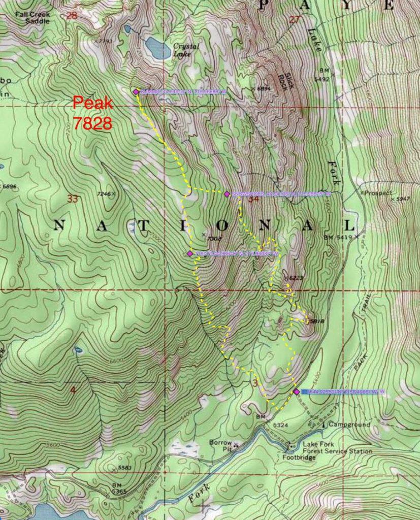 John Platt's 2015 GPS track.