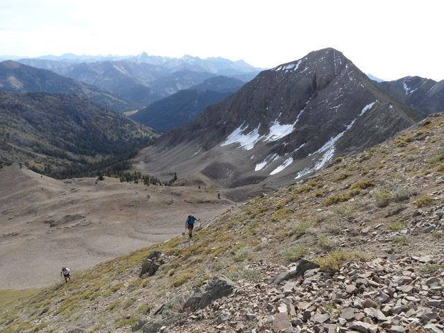 Mallory Peak from the slopes of Murdock Peak. John Platt Photo