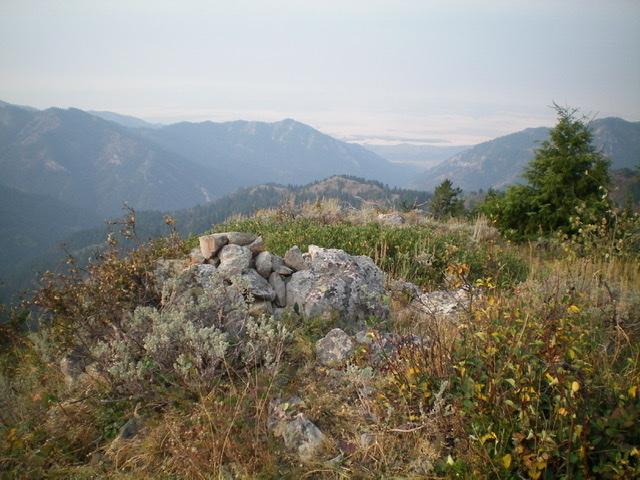 The summit area of Prospect Peak, looking south. Livingston Douglas Photo
