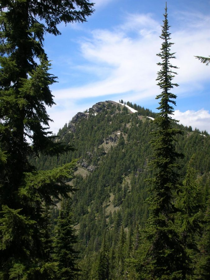 Bennett Peak. Ken Jones Photo