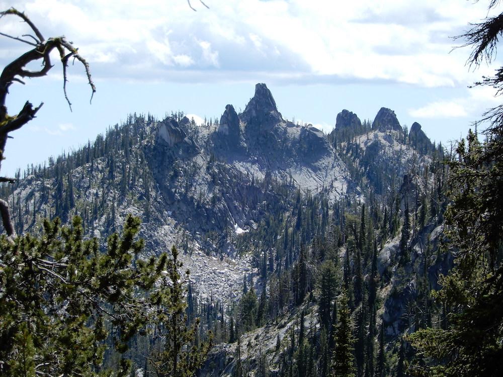 The Needles viewed from Needles Summit. John Platt Photo